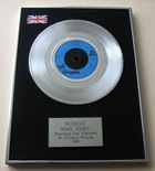 BLONDIE - DENIS (DENEE) PLATINUM Single Presentation DISC